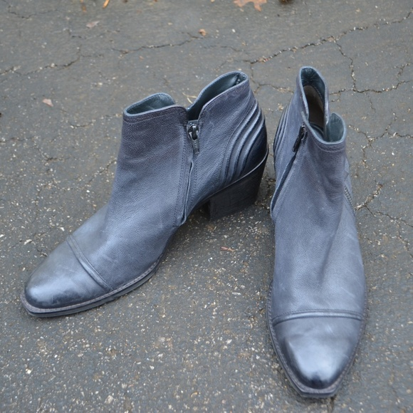 5f947b313881f PAUL GREEN DIANDRA ECHT LEATHER BLACK ANKLE BOOTS.  M_5c2fdd01baebf6cbe864291a